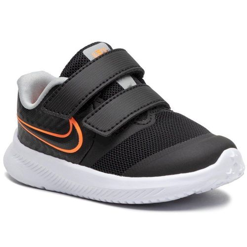 Buty NIKE - Star Runner 2 (Tdv) AT1803 008 Black/Total Orange/White