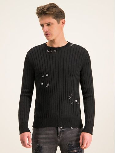 Just Cavalli Sweter S01HA0391 Czarny Regular Fit