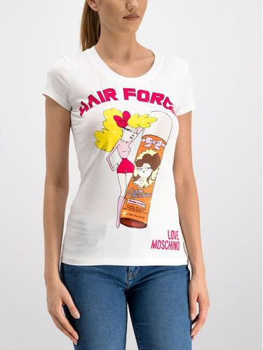 LOVE MOSCHINO T-Shirt W4B194UE2065 Slim Fit