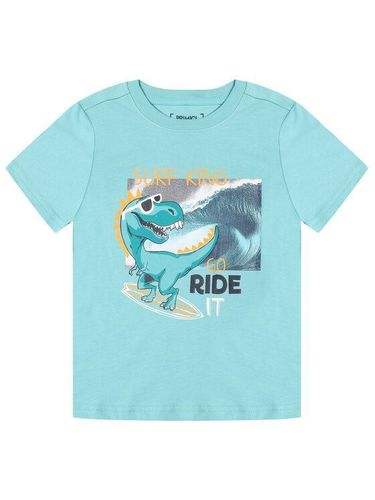 Primigi T-Shirt Ride The Waves 45222011 Niebieski Regular Fit