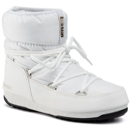 Śniegowce MOON BOOT - Low Nylon Wp 2 240093002 White