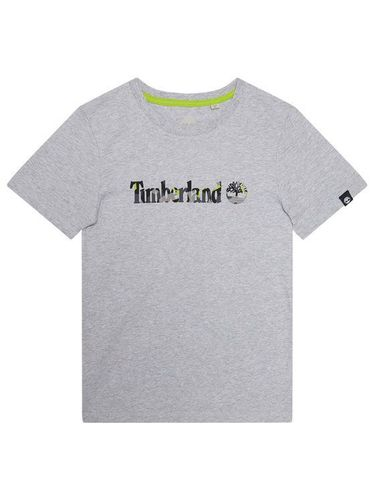Timberland T-Shirt T45818 Szary Regular Fit