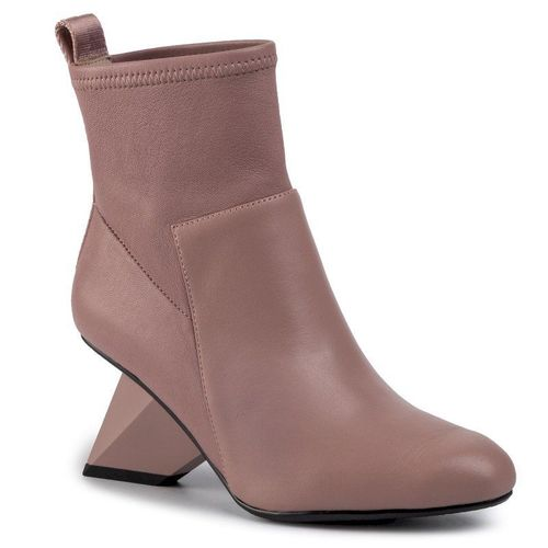 Botki UNITED NUDE - Rockit Pure Bootie 1048861016 Dusty Pink