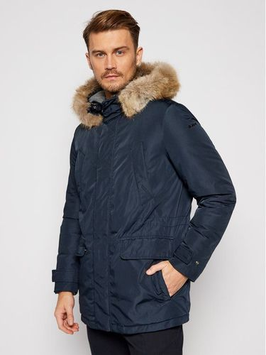 Geox Parka Norwolk M0428F T2451 F4386 Granatowy Regular Fit