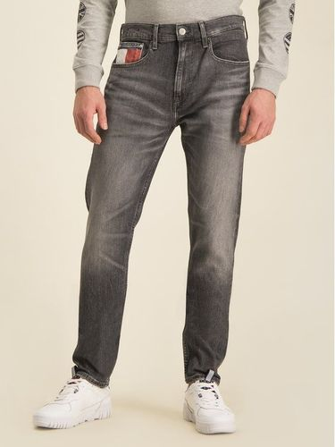 Tommy Jeans Jeansy Slim Fit Tj Clsbk DM0DM07335 Szary Tapered Fit