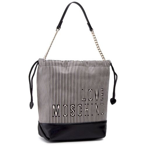 Torebka LOVE MOSCHINO - JC4230PP0CKE100A Canvas Naturale/Nero