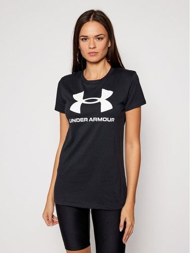 Under Armour T-Shirt Live Sportstyle Graphic 1356305 Czarny Regular Fit