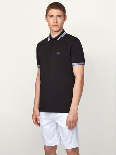 Boss Polo Paddy 50398302 Czarny Regular Fit