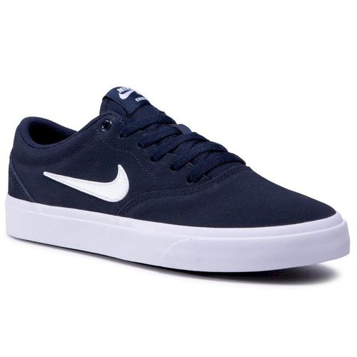 Buty NIKE - Sb Charge Suede (Gs) CT3112 400 Obsidian/White/Obsidian/Black