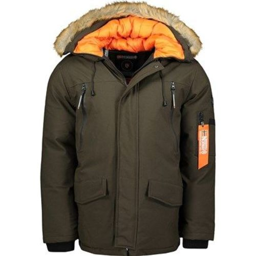 Parka Geographical Norway zielona casual