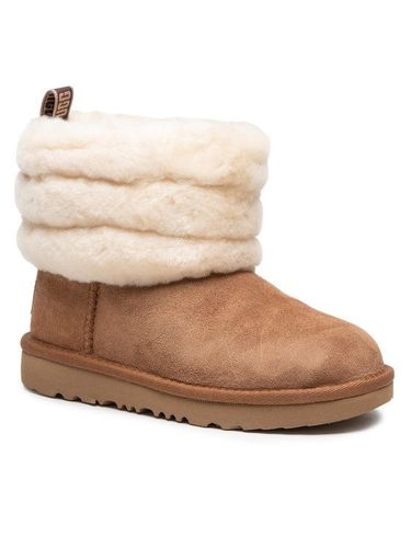 Ugg Buty T Fluff Mini Quilted 1103612K Brązowy