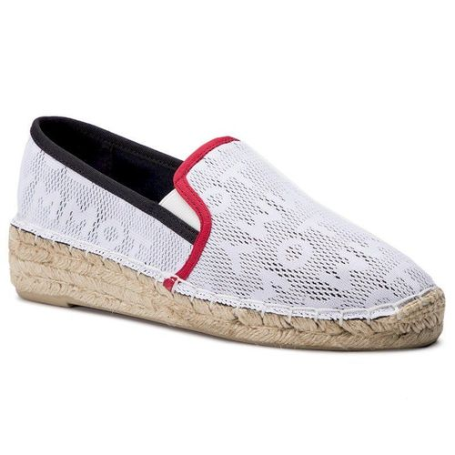 Espadryle TOMMY HILFIGER - Tommy Mesh Sporty Espadrille FW0FW03792 Bright White 161