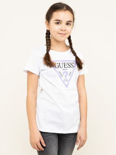 Guess T-Shirt J73I56 K5M20 Biały Regular Fit