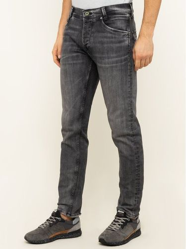Pepe Jeans Jeansy Slim Fit Spike PM200029 Szary Slim Fit