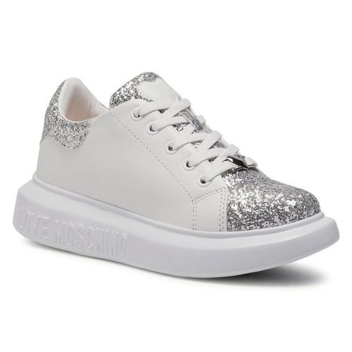 Sneakersy LOVE MOSCHINO - JA15654G0BJ6290B Arge/Bia
