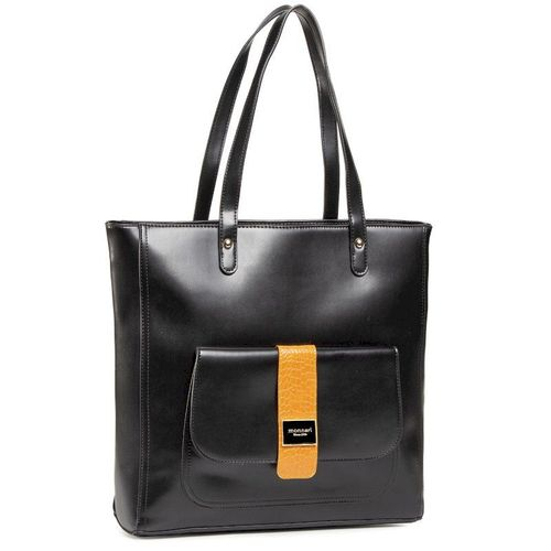 Torebka MONNARI - BAG5400-M20 Black/Orange