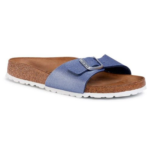 Klapki BIRKENSTOCK - Madrid Bs 1016853 Icy Metallic Azure Blue