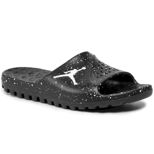 Klapki NIKE - Jordan Super.Fly Team Slide 716985 031 Black/White/White