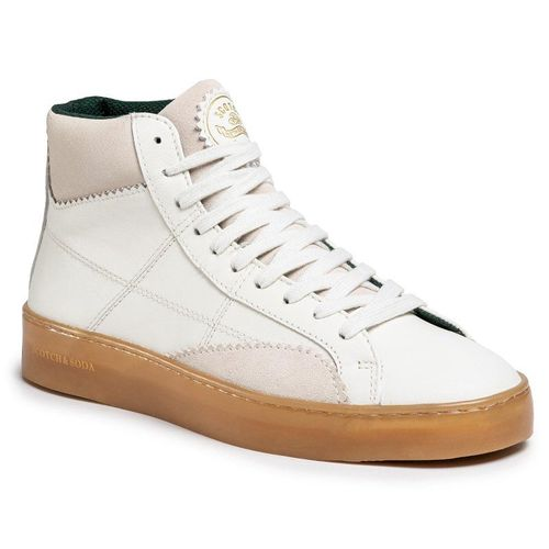 Sneakersy SCOTCH & SODA - Plakka 20841614 Off White S20
