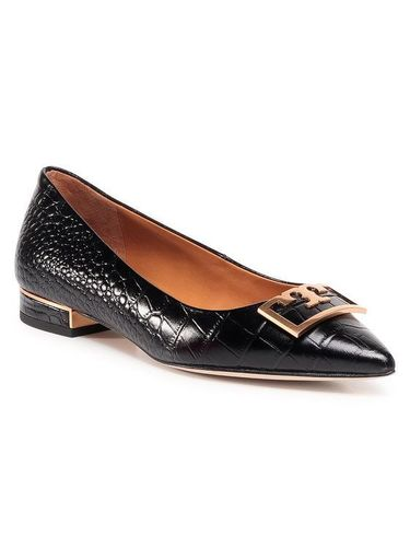 Tory Burch Półbuty Gigi 20Mm Pointy Toe Flat 76349 Czarny