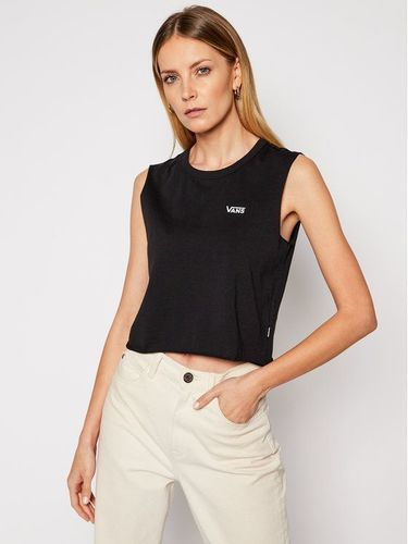 Vans Top Junior V Muscle Crop VN0A4DNG Czarny Cropped Fit