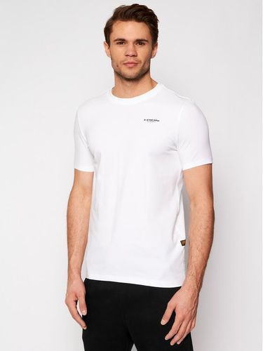 G-Star Raw T-Shirt Base D19070-C723-110 Biały Slim Fit