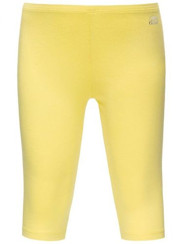 Mayoral Legginsy 706 Żółty Slim Fit