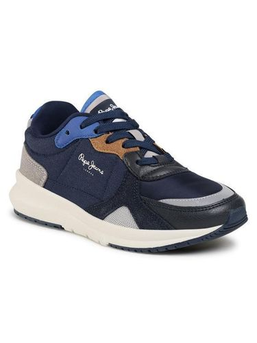 Pepe Jeans Sneakersy Park Air 0.1 PBS30464 Granatowy