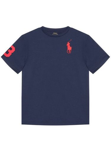 Polo Ralph Lauren T-Shirt Ss Cn 323832907019 Granatowy Regular Fit