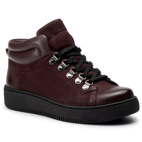 Sneakersy GO SOFT - WI23-DERBA-04 Burgundy