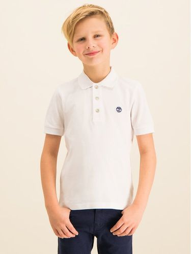 Timberland Polo T25P13 Biały Regular Fit
