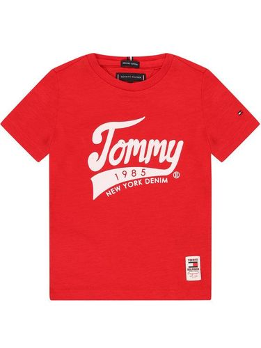 Tommy Hilfiger T-Shirt 1985 KB0KB05497 M Czerwony Regular Fit