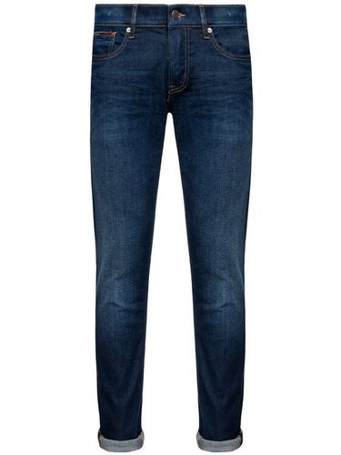 Tommy Jeans Jeansy Slim Fit DM0DM04373 Granatowy Slim Fit