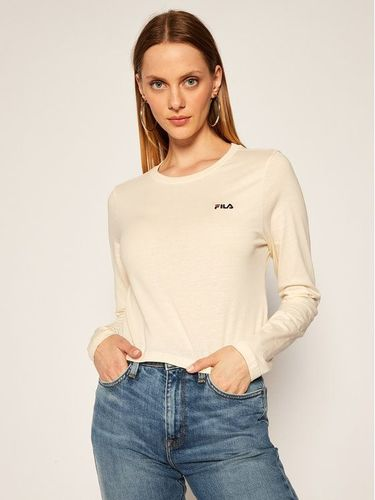 Fila Bluzka Eaven Cropped Long Sleeve 687602 Beżowy Regular Fit