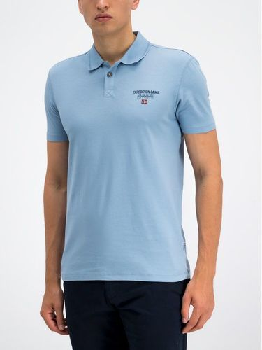 Napapijri Polo Eonthe N0YIIZ Niebieski Regular Fit