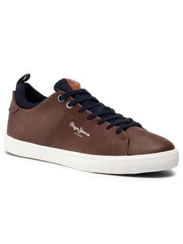 Pepe Jeans Sneakersy Marton Basic PMS30501 Brązowy