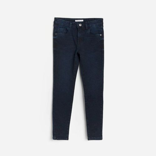 Reserved - Jeansy slim fit - Granatowy