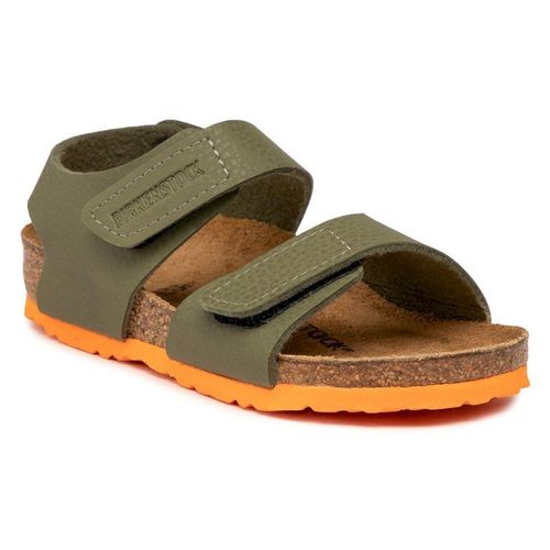 Sandały BIRKENSTOCK - Palu Kids Logo Bs 1019089 Desert Soil Moss Green/Orange