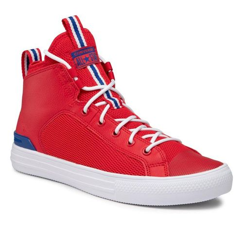 Sneakersy CONVERSE - Ctas Ultra Mid 166980C University Red/Rush Blue/White