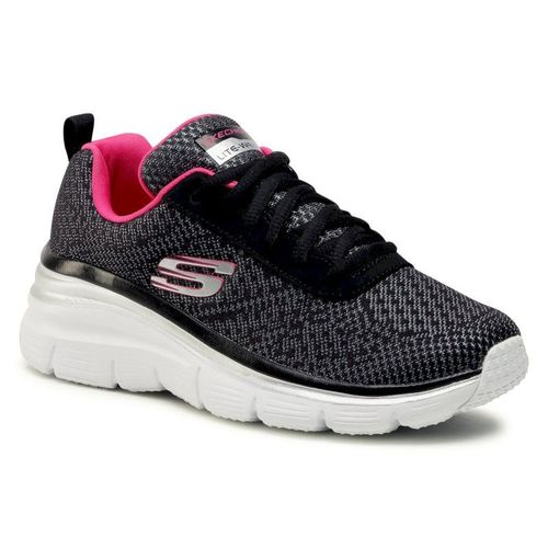 Sneakersy SKECHERS - Bold Boundaries 12719/BKHP Black/Hot Pink