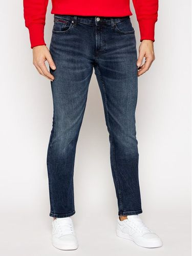 Tommy Jeans Jeansy Slim Fit Scanton DM0DM09296 Granatowy Slim Fit