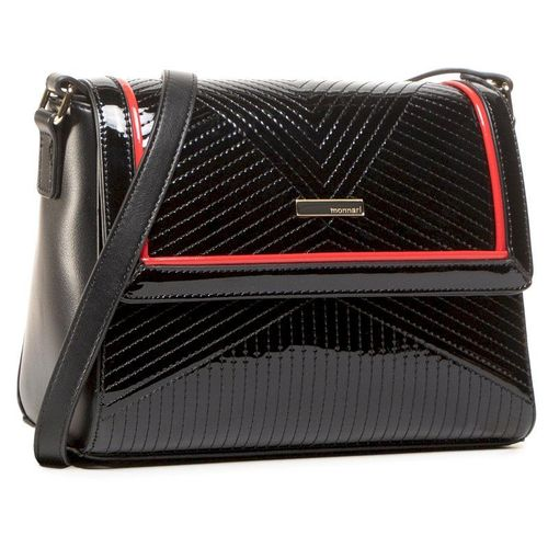 Torebka MONNARI - BAG7970-020 Black With Red