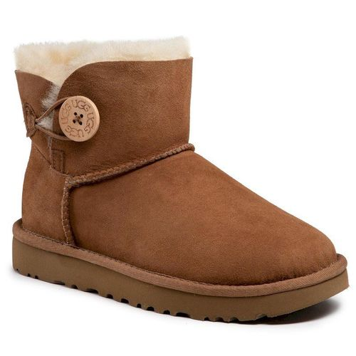 Buty UGG - W Mini Bailey Button II 1016422 W/Che