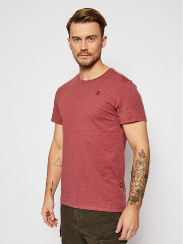 G-Star Raw T-Shirt Compact D16411-336-6072 Bordowy Regular Fit