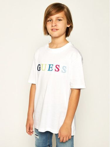 Guess T-Shirt H01J01 K82E0 Biały Regular Fit
