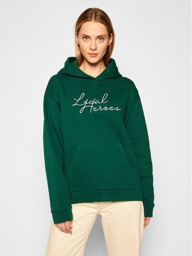Local Heroes Bluza Need This AW2021S0013 Zielony Oversize