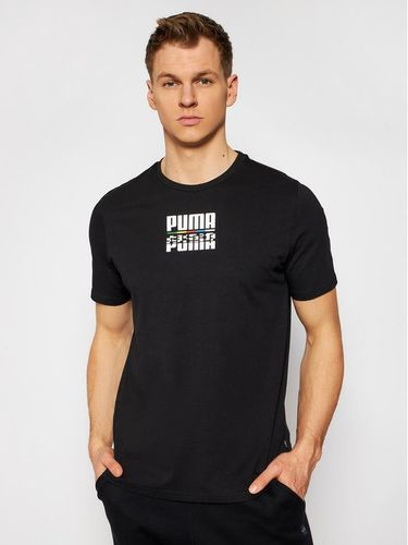 Puma T-Shirt Core International 587768 Czarny Regular Fit