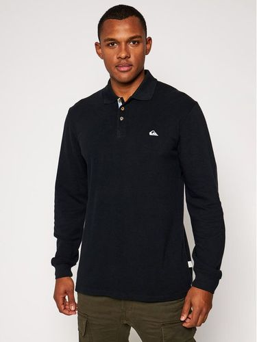 Quiksilver Polo EQYKT04048 Czarny Regular Fit