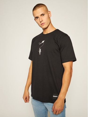 Diamante Wear T-Shirt My Life 5403 Czarny Regular Fit