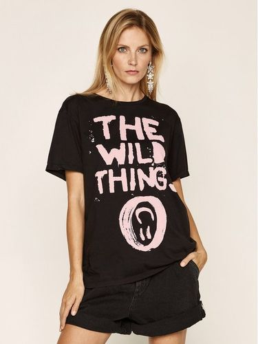 One Teaspoon T-Shirt Wild Things Bf Tee 23540A Czarny Regular Fit